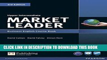 [READ] EBOOK Market Leader Upper Intermediate Course Book with DVD-ROM ONLINE COLLECTION