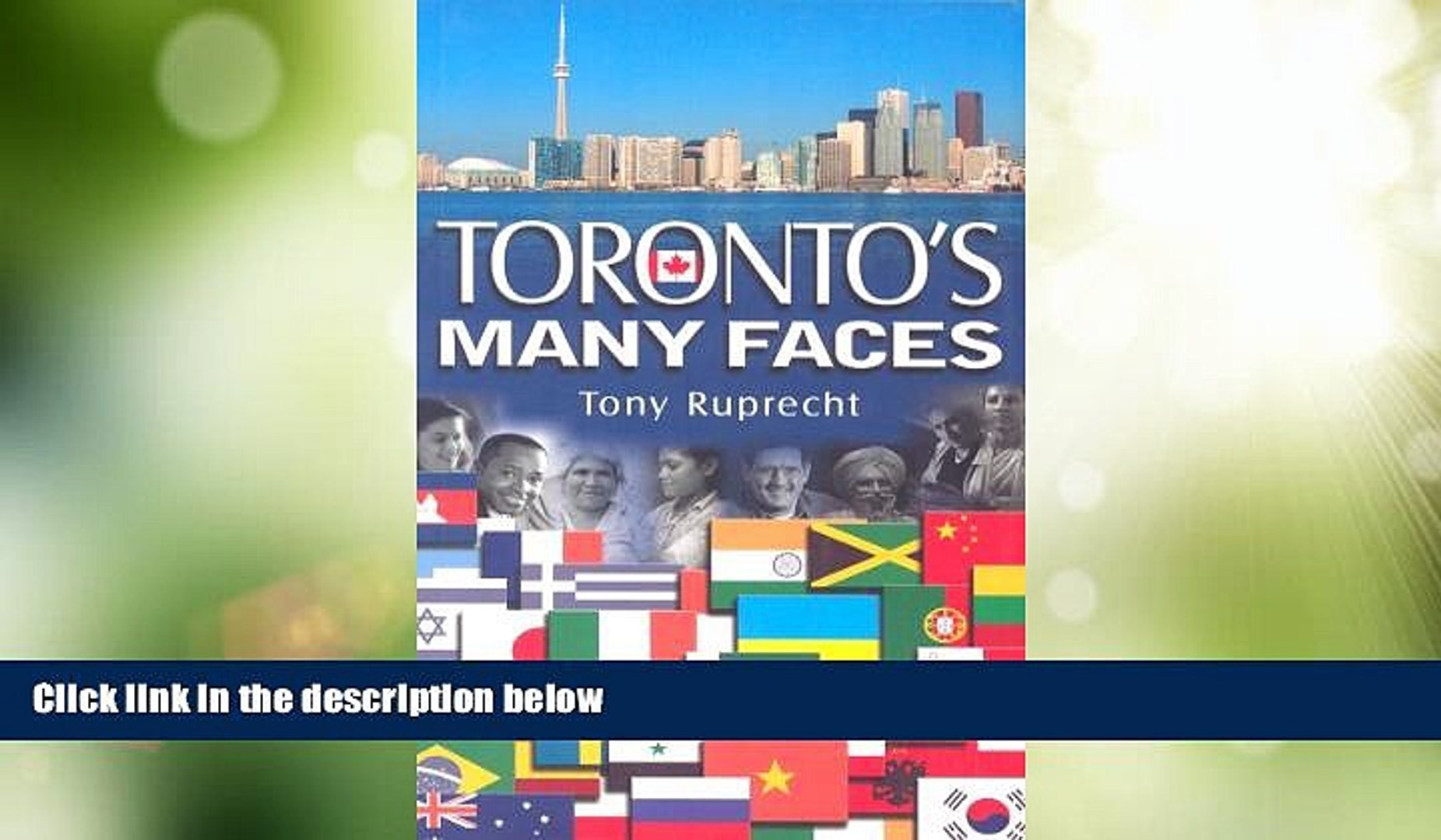 Big Deals  Toronto s Many Faces (Canadian Bed   Breakfast Guide)  Best Seller Books Best Seller