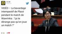 Stan Wawrinka recadre Jean-Vincent Placé en plein match