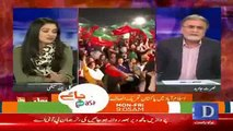Yeh Mkafaat-e-Amal Hai Nawaz Sharif Bhi Kala Coat Pehan Kar Supreme Court Gae Thay- Nusrat Javed Bashing Nawaz Sharif