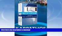 READ  Karpathos and Saria - Blue Guide Chapter (from Blue Guide Greece the Aegean Islands)  BOOK