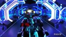 Découvrez la nouvelle attraction du parc Disneyland à Shanghai, des incroyables montagnes russes en version Tron!