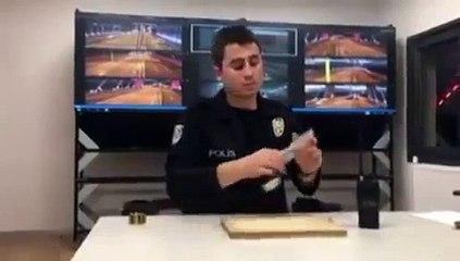 Nusret'e rakip olan çılgın polis