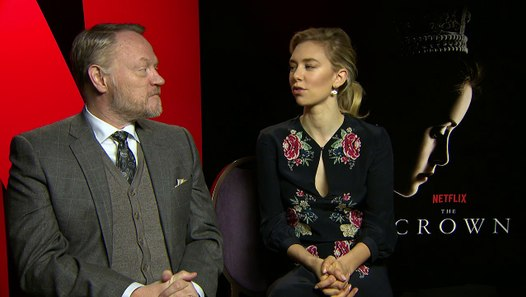 THE CROWN Interview with VANESSA KIRBY and JARED HARRIS