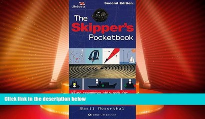 Must Have PDF  The Skipper s Pocketbook: An Invaluable Reference Guide for all Yacht Skippers: