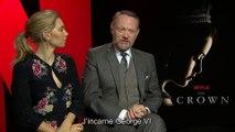 THE CROWN : interview de Vanessa Kirby (Margaret) et Jared Harris (George VI)