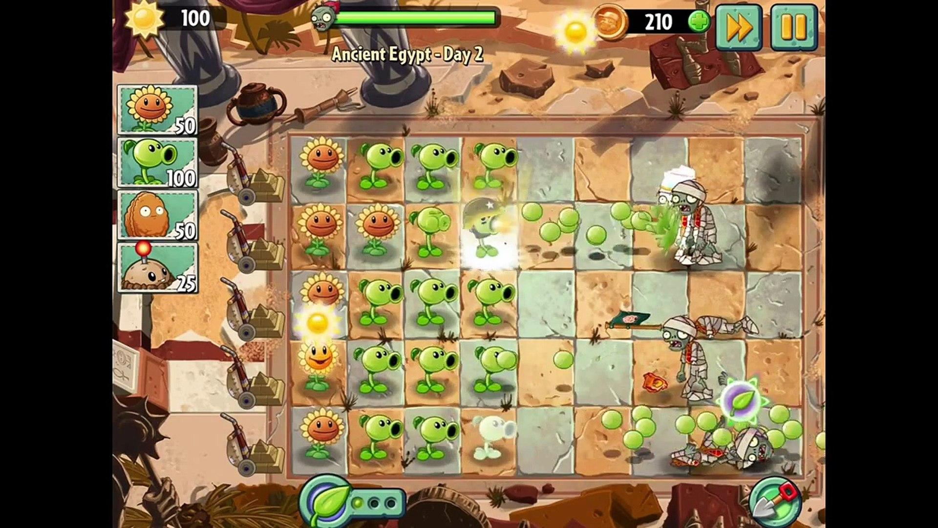 игра мультик приключеник овощи против зомби 2 игра египед часть 1 # 2