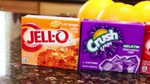 Real CANDY Oranges How To Make Jello Oranges DIY Jell O Fruit by DisneyCarToys