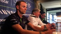 Cyclisme - La Team Movistar en stage à Pampelune avec Alejandro Valverde et Nairo Quintana pour préparer la saison 2017