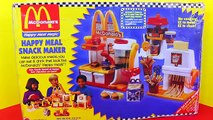 McDonalds BURGER MAKER Happy Meal Magic Hamburger Snack Maker + French Fries New DIY Recipe for Kids
