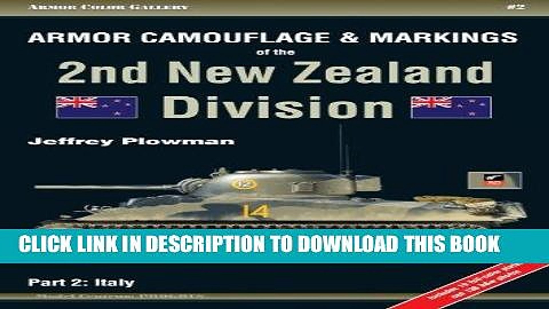 Read Now Armor Camouflage   Markings of the 2nd New Zealand Division, Part 2: Italy - Armor Color
