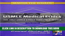 [PDF] Master the Boards USMLE Medical Ethics: The Only USMLE Ethics High-Yield Review Full Online