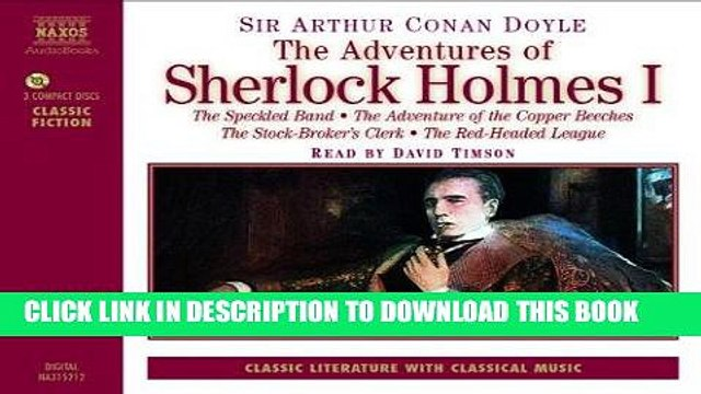 [Ebook] The Adventures of Sherlock Holmes: The Speckled Band, the Adventure of the Copper Beeches,