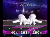 SSBM Pichu vs Master Hand and Crazy Hand - Event 50