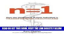 [READ] EBOOK n=1: How the Uniqueness of Each Individual Is Transforming Healthcare BEST COLLECTION