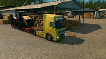 Euro Truck Simulator 2 Trucking Diary #10 Tractor RS 666 Transport To Torino Volvo FH16 Truck