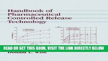 [READ] EBOOK Handbook of Pharmaceutical Controlled Release Technology BEST COLLECTION