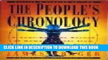 Read Now The people s chronology: A year-by-year record of human events from prehistory to the