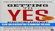 [READ] EBOOK Getting to Yes: Negotiating Agreement Without Giving In BEST COLLECTION