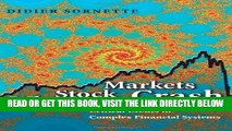 [BOOK] PDF Why Stock Markets Crash: Critical Events in Complex Financial Systems Collection BEST