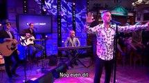 Robbie Williams @ RTL Late Night 2-11-2016