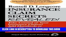 [PDF] Insurance Claim Secrets Revealed!: Take Control of Your Insurance Claims! Add Hundreds More