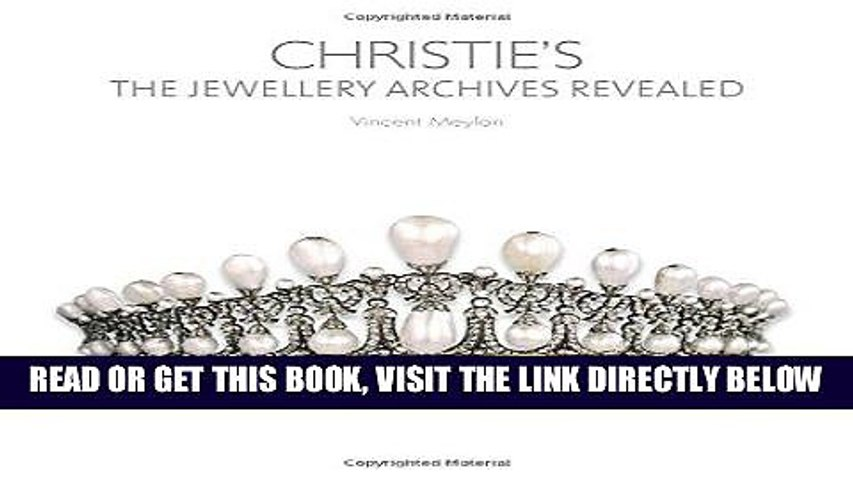 [FREE] EBOOK Christie s: The Jewellery Archives Revealed BEST COLLECTION
