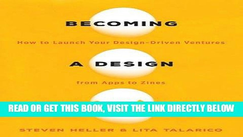 [FREE] EBOOK Becoming a Design Entrepreneur: How to Launch Your Design-Driven Ventures from Apps