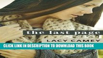 Best Seller The Last Page (YA   New Adult Romantic Comedy) (Living, Loving and Laughing Again Book