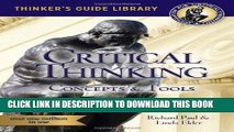 [READ] EBOOK The Miniature Guide to Critical Thinking-Concepts and Tools (Thinker s Guide) BEST