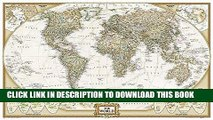 Ebook World Executive Poster Sized Wall Map (Tubed World Map) (National Geographic Reference Map)