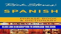 Ebook Rick Steves  Spanish Phrase Book   Dictionary Free Read