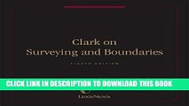 [New] Ebook Clark on Surveying and Boundaries Free Online