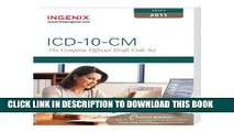 Best Seller ICD-10-CM: The Complete Official Draft Code Set (2011 Draft) (ICD-10-CM Draft) Free