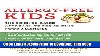 New Ebook Allergy Free Kids The Science Based App