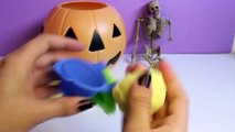 Halloween Play Doh Cupcakes DIY Ghost Pumpkin Witch Mummy How To Make Halloween Crafts