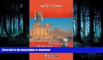 READ  Michelin NEOS Guide Syria Jordan, 1e (NEOS Guide)  PDF ONLINE