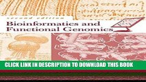 [READ] EBOOK Bioinformatics and Functional Genomics BEST COLLECTION