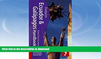 FAVORITE BOOK  Ecuador   Galapagos Handbook: Travel Guide To Ecuador And The Galapagos Islands