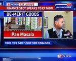 Finance Secretary On Final GST Rates