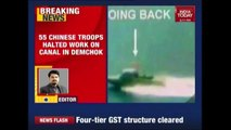 Chinese Army Stops Irrigation Project In Demchok In India