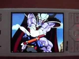 Dragonball Z sur mon telephone portable