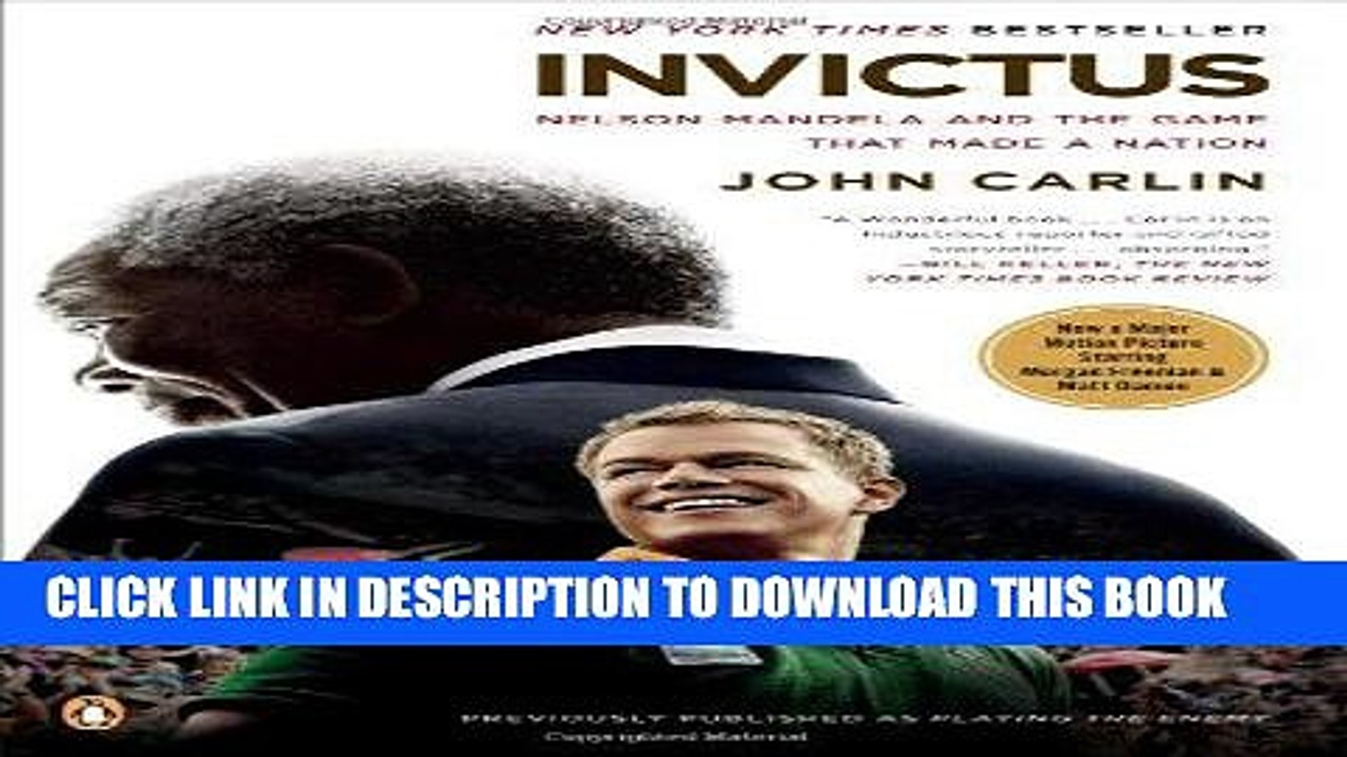 Pdf Invictus Nelson Mandela And The Game That Made A Nation Full Collection