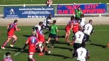 Rugby  Lavaur 21 - 15 RC Strasbourg par Stras TV