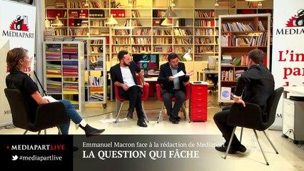 «En direct de Mediapart» : Macron le présidentialiste ?