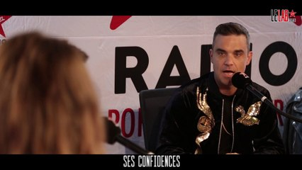 ROBBIE WILLIAMS DANS LE LAB VIRGIN RADIO