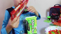 FOOD PRANK! Funny School Lunch Prank Ideas April Fools Joke HOT SPICY CANDY + Play Doh Gum + Cheetos
