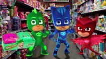 PJ Masks Gekko Owlette and Catboy Episode Romeo STEALS PJ Masks Surprise Toys PJ Masks New Video