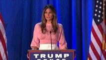 Usa 2016, Melania Trump: mi batterò per le donne e per i bambini