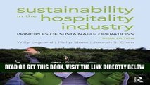 [Free Read] Sustainability in the Hospitality Industry: Principles of sustainable operations Free